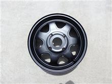 ブラボー三菱自動車(純正) 鉄チンホイールの単体画像