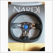 NARDI 75th anniversary Line NARDI 1(ONE) ブラックレザー/SILスポーク