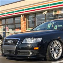 A6 (セダン)Audi純正(アウディ) フロントスポイラーの単体画像