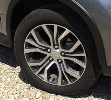 RVR三菱自動車(純正) 2017 モデル アウトランダー 純正 18インチ アロイホイールの単体画像