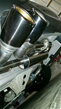 3シリーズグランツーリスモSkills ワンオフマフラーの全体画像