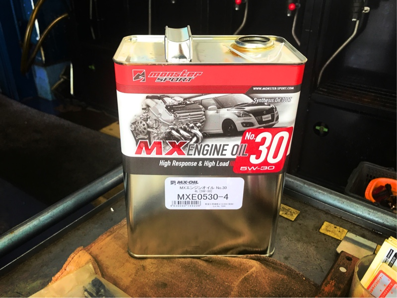 MONSTER SPORT / TAJIMA MOTOR CORPORATION MX ENGINE OIL 5W-30