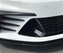 ゴルフ (ハッチバック)VW  / フォルクスワーゲン純正 フロントバンパーダクト艶黒塗装の単体画像