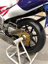 NSR250RSEドッグファイトレーシング+エンデュランス ワンオフチャンバーの単体画像