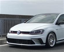 ゴルフ (ハッチバック)VW  / フォルクスワーゲン純正 フロントバンパー ナンバースムージングの単体画像