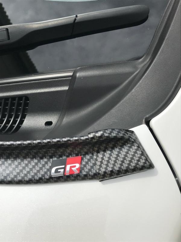 トヨタGR garage  ステアリングエンブレム
