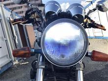 XJR1200ノーブランド LEDヘッドライト(H4)の単体画像