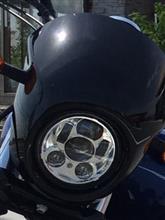 Street750ハーレーダビッドソン(純正) 5-3/4インチ・デーメーカーLEDヘッドライト   の単体画像