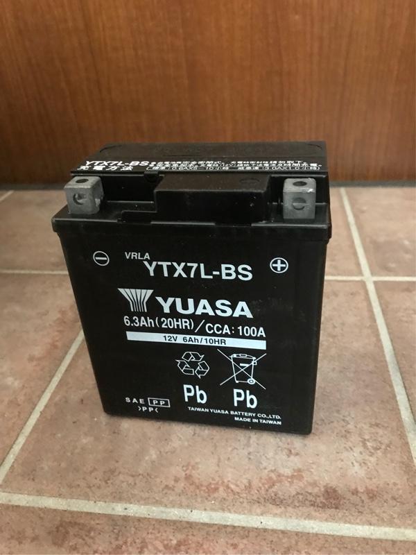 台湾YUASA YTX7L-BS
