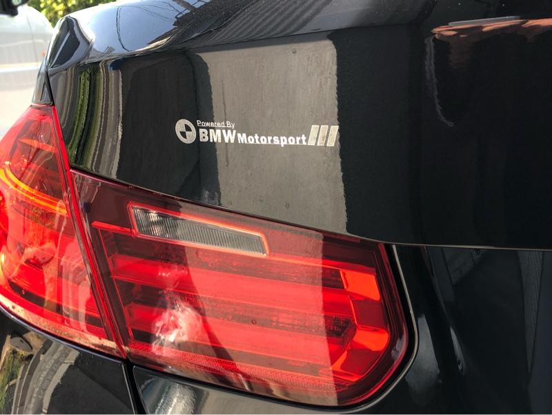 不明 BMW motorsportsエンブレム