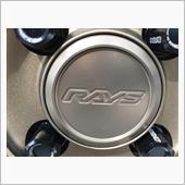 RAYS VOLK RACING ボルクレーシング用センターキャップ Aフラットタイプ