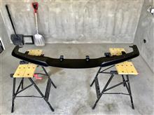 クラウンアスリート ハイブリッドJ-unit フロントアンダーリップスポイラーの単体画像