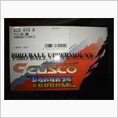 CUSCO キャンバー調整式ピロボールアッパーマウント