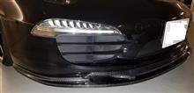 911 (クーペ)Kohlenstoff Front carbon spoiler/ lip spoilerの全体画像