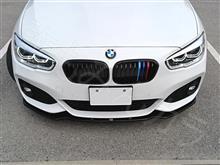 1シリーズ ハッチバックマクストンデザイン MaxtonDesign  フロントスプリッター グロスブラック BMW F20 後期 Mスポーツ フロント リップ スポイラー の全体画像