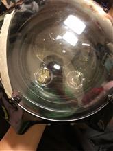 ドラッグスター400SILIVN ハーレー専用 ヘッドライトの全体画像