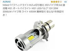 BW'SAUNAX ledヘッドライトバルブの単体画像