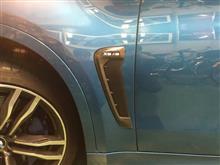 X6Mメーカー・ブランド不明 AutoTecknic Replacement Carbon Fiber Fender Trims - BMW F86 X6Mの全体画像