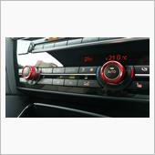 358 Products Alumi Aircon Swich Ring Red