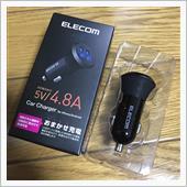 ELECOM (エレコム) カーチャージャー (EC-DC03BK)