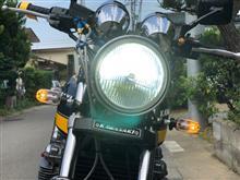 ゼファー750AMBOTHER バイク用 ledヘッドライト H4 PH7 H6 汎用 3個COBチップ搭載 360°超高輝度発光 Hi/Lo切替(32W/22W) 3000LM DC6V-36V直流 白光ホワイト 6000K-65の全体画像