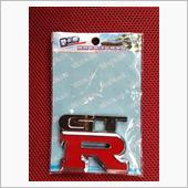 メーカー? GTR Matal Chrome 3D Car Badge