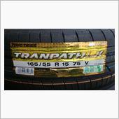 TOYO TIRES TRANPATH LuK 165/55R15