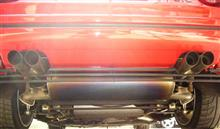 328GTB/GTSメーカー・ブランド不明 チタンマフラーの単体画像