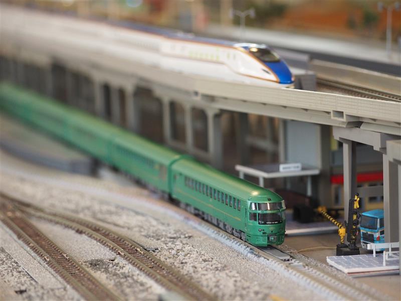 鉄道カフェはるか MICRO ACE(マイクロエース) Nゲージ A7892 キハ72系 ゆふいんの森 編成増強 5両セット(1)
