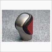 Leather Custom FIRST IS純正シフトノブ革巻き加工