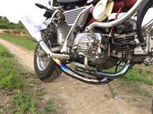 モンキー Z50Jキタコ スーパートラップ & トグロ管の単体画像