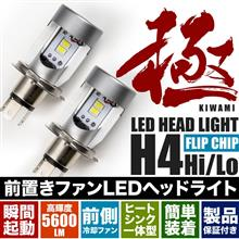 デリカD:3RIDE / INEX  前置き冷却ファン 極 LEDヘッドライト の単体画像