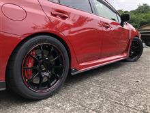 WRX S4RAYS VOLK RACING ZE40 TIME ATTACK EDITIONの全体画像