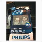 PHILIPS X-treme Ultinon LED 6000K T20