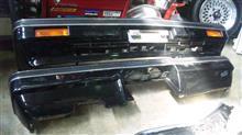 セドリックワゴン日産(純正) 後期3000用フロントバンパーの全体画像