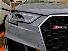 RS3(セダン)Audi純正(アウディ) マトリックスLEDヘッドライトの単体画像