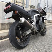 GSX-R400Rヨシムラ スリップオンサイクロンマフラーの全体画像