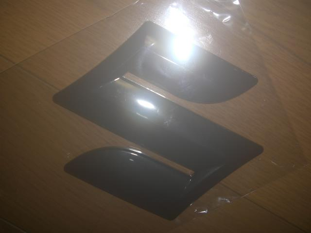 17RP 100mm 電着塗装 ブラック カラーエンブレム
