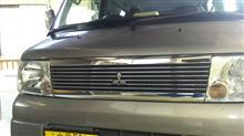 クリッパーリオ三菱自動車(純正) メッキグリルの単体画像