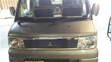 クリッパーリオ三菱自動車(純正) メッキグリルの全体画像