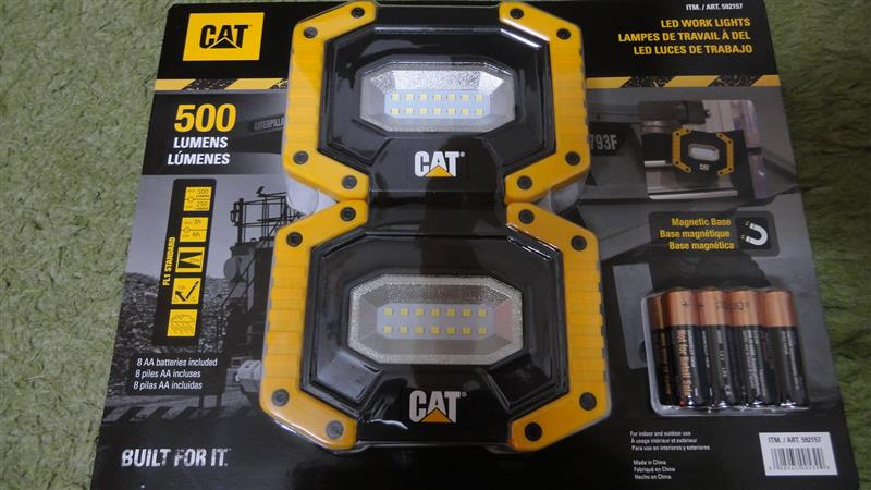 CAT LED Worklight with Magnetic Base