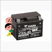 YUASA バイク用バッテリー YTX4L-BS