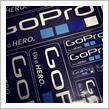 Amazon購入 GOPRO ステッカー