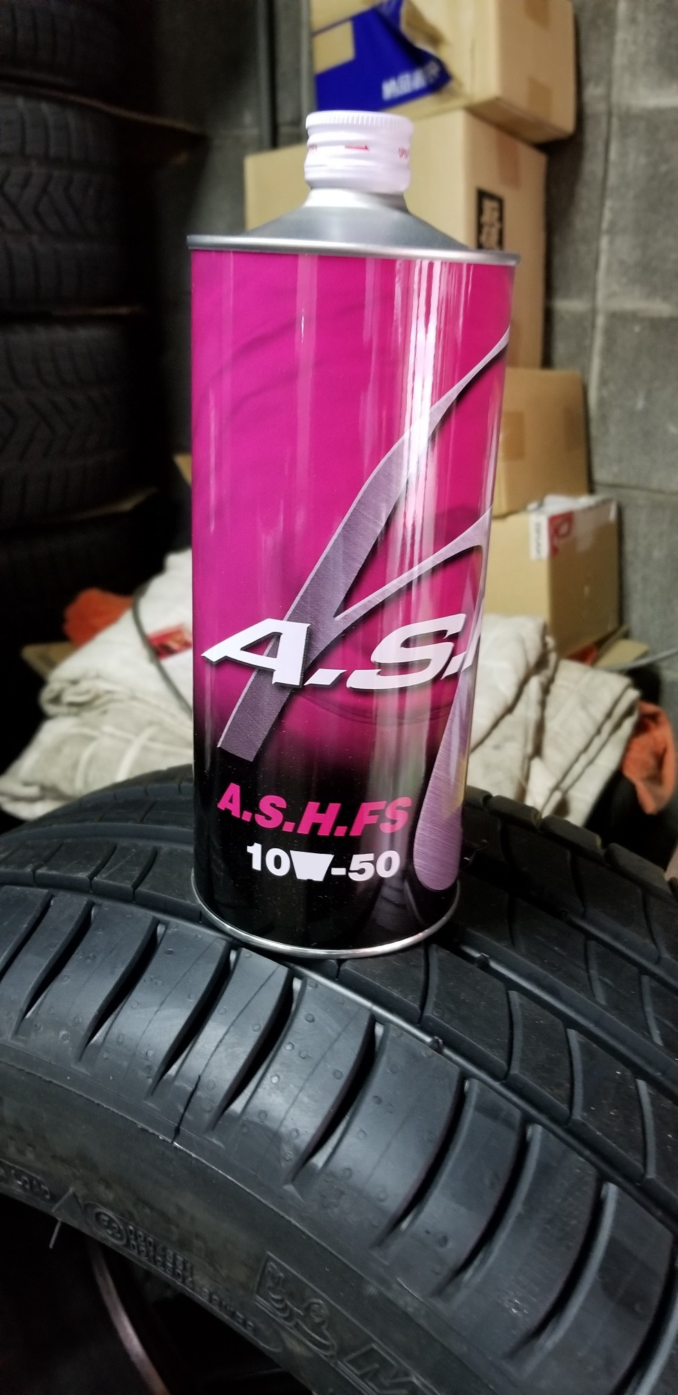 JCD PRODUCTS A.S.H. FS OIL 10W-50