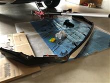 NXハイブリッドTRD / トヨタテクノクラフト フロントエアロスポイラーの全体画像