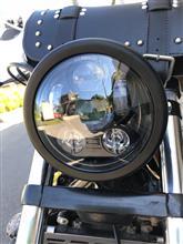 エリミネーター250VVOSICKY(ボスキー) ハーレーLEDヘッドライトの全体画像