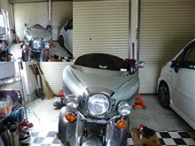 ロイヤルスタースリップ ストリーマー Slip Streamer  スリップ ストリーマー Slip Streamer ウインドシールド 6インチ 00年-13年 ロイヤルスター XVZ1300 ダークスモーク JPの全体画像