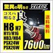 REIZ TRADING VELENO Beta 7600lm LEDヘッドライト・フォグ