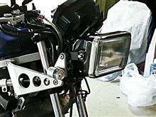 CBR400Fワンズアンドエム 角目ヘッドライトの全体画像