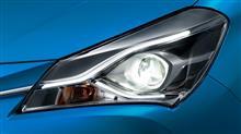 ヴィッツハイブリッドトヨタ(純正) Bi-Beam LEDヘッドランプ(オートレベリング機能付・スモークメッキ加飾)+LEDクリアランスランプの単体画像